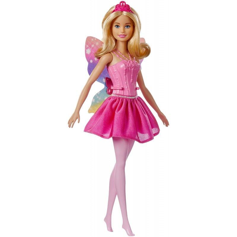 Barbie Dreamtopia Νεράιδα Μπαλαρίνα 2 Σχέδια FWK85