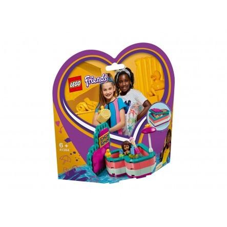 LEGO Friends Καλοκαιρινό Κουτί-Καρδιά Της Άντρεα 41384