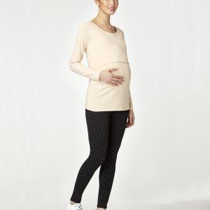 Γυναικεία Μπλούζα Θηλασμού Μπεζ