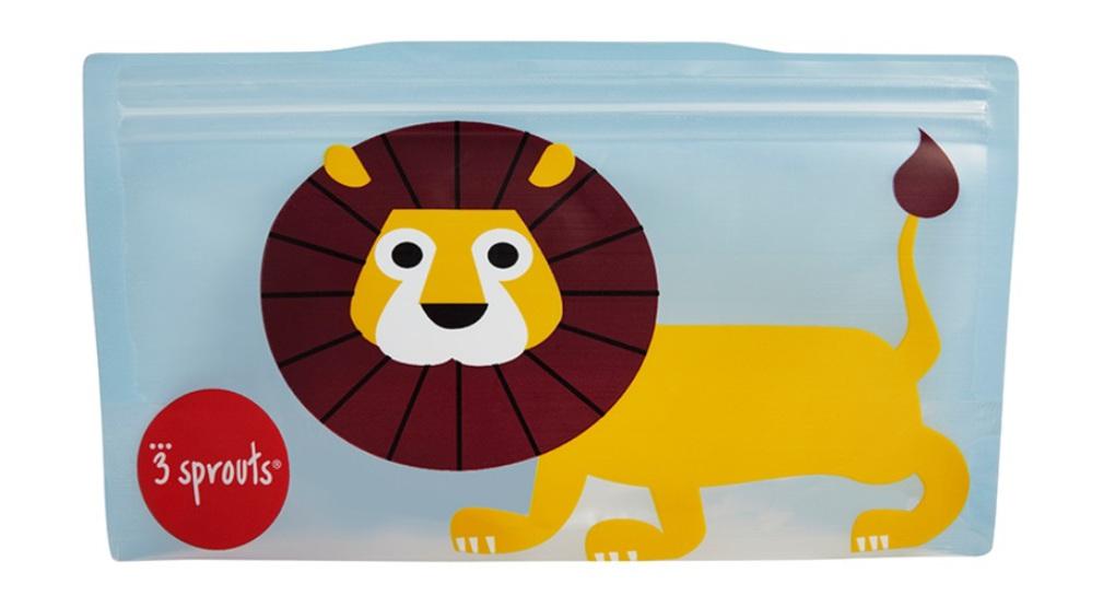 3Sprouts Θήκες Σνακ- Lion (2 Τμχ)