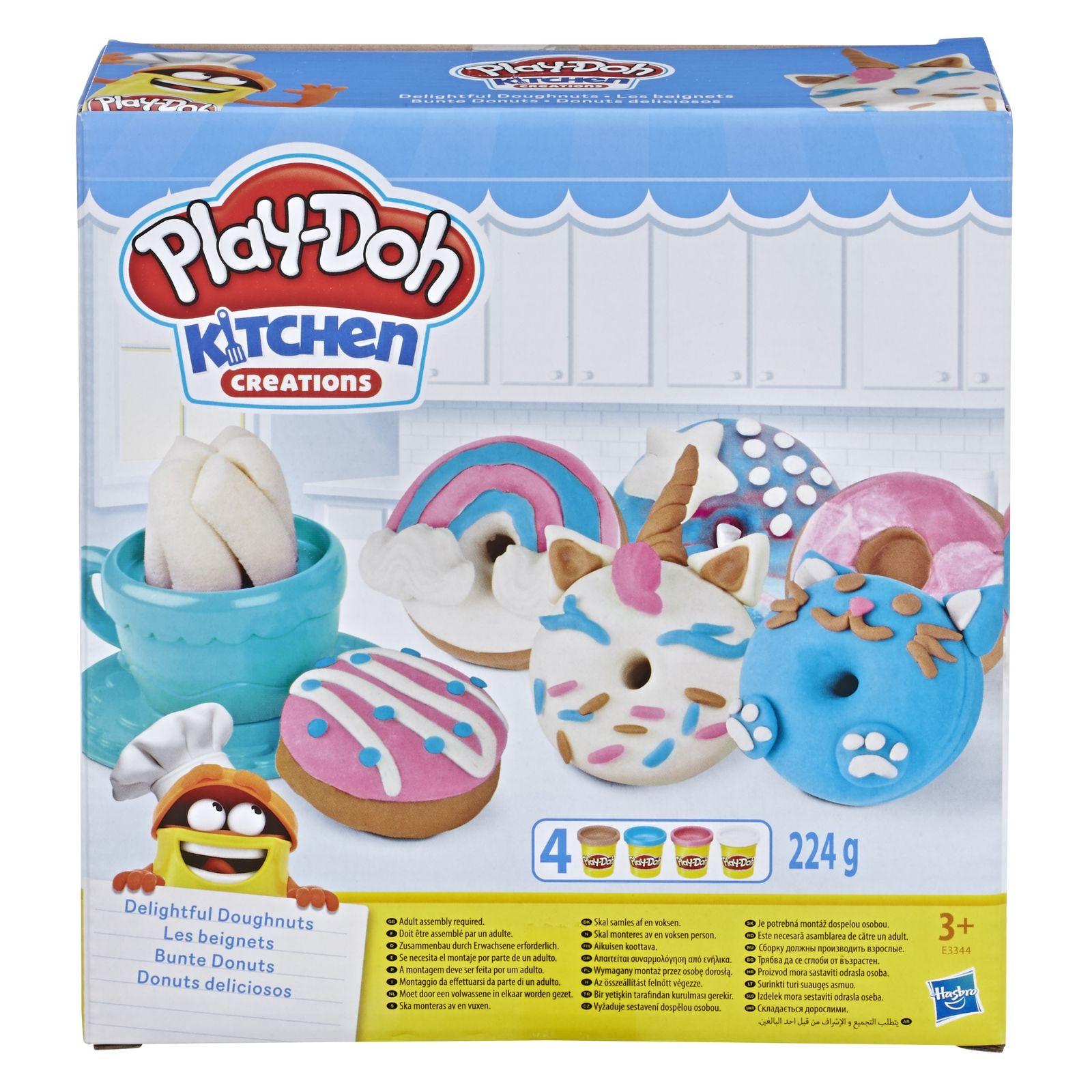 Play-Doh Delightful Donuts E3344