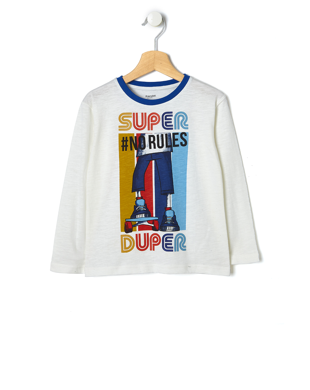 T-shirt με Maxi Στάμπα για Αγόρι