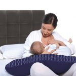 Grecostrom Μαξιλάρι Θηλασμού κι Εγκυμοσύνης Standard Maze Grey
