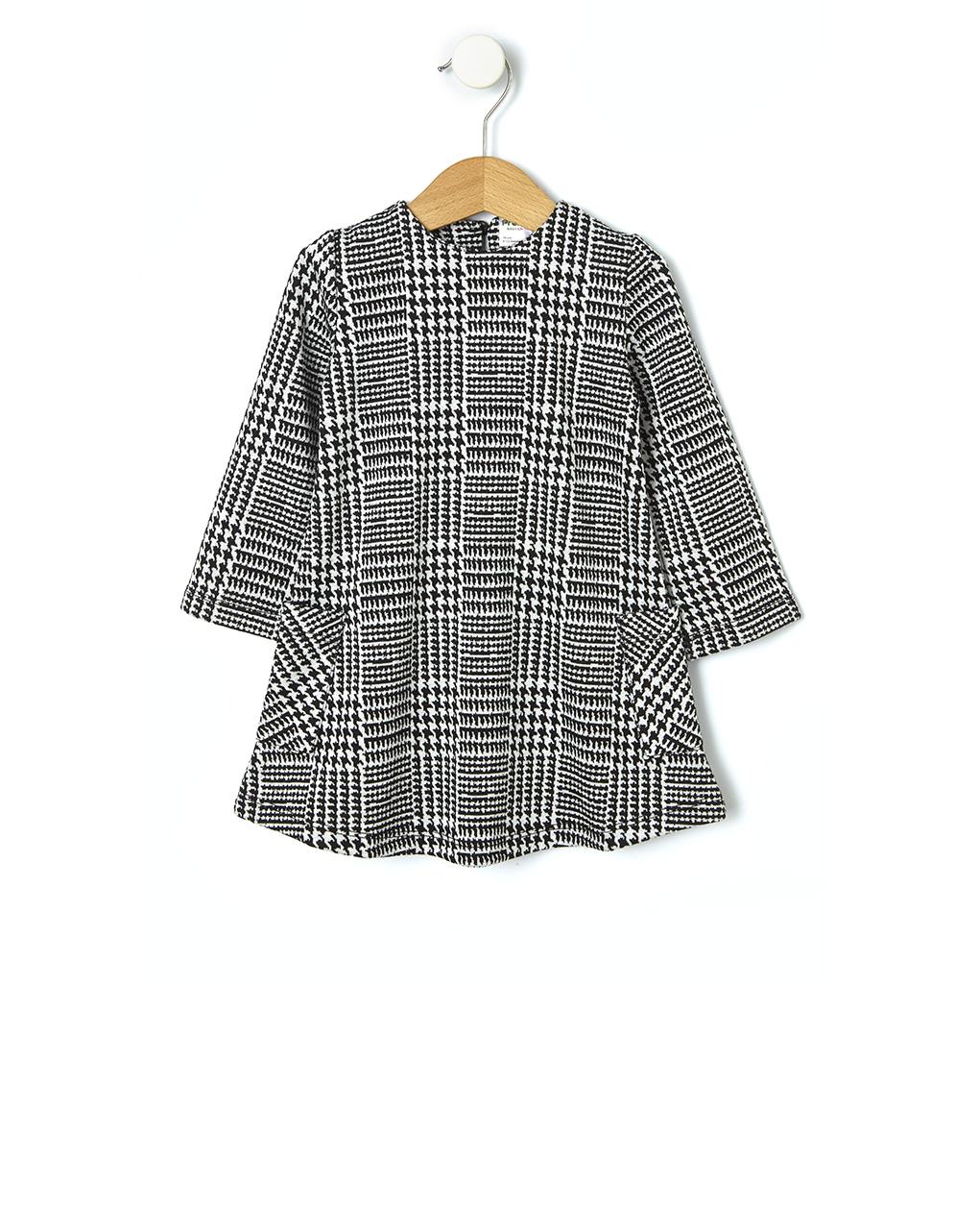 Φόρεμα Μακρυμάνικο Jacquard για Κορίτσι