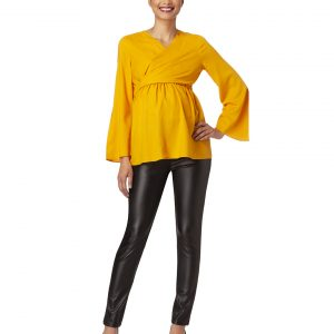 Γυναικεία Μπλούζα Θηλασμού Κίτρινη
