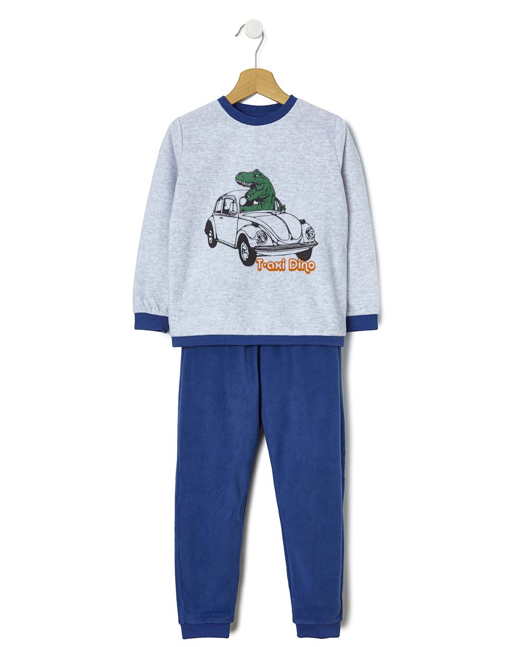 Πιτζάμα fleece με Δεινόσαυρο για Αγόρι
