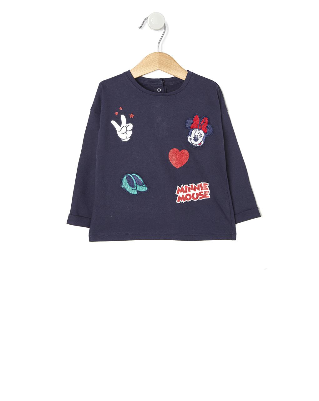 T-shirt Jersey Minnie Μπλε για Κορίτσι