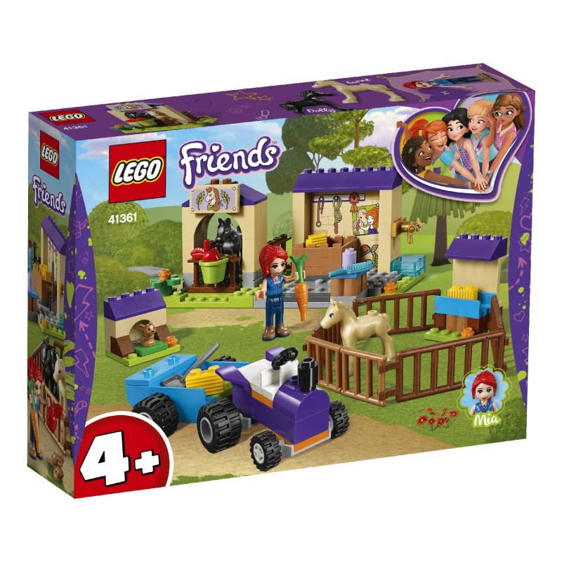 LEGO Friends Ο Στάβλος Για Πουλάρια Της Μία 41361