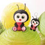 Nici Λαμπάδα με Λούτρινο  Ladybird Lily May 15cm 805-45559