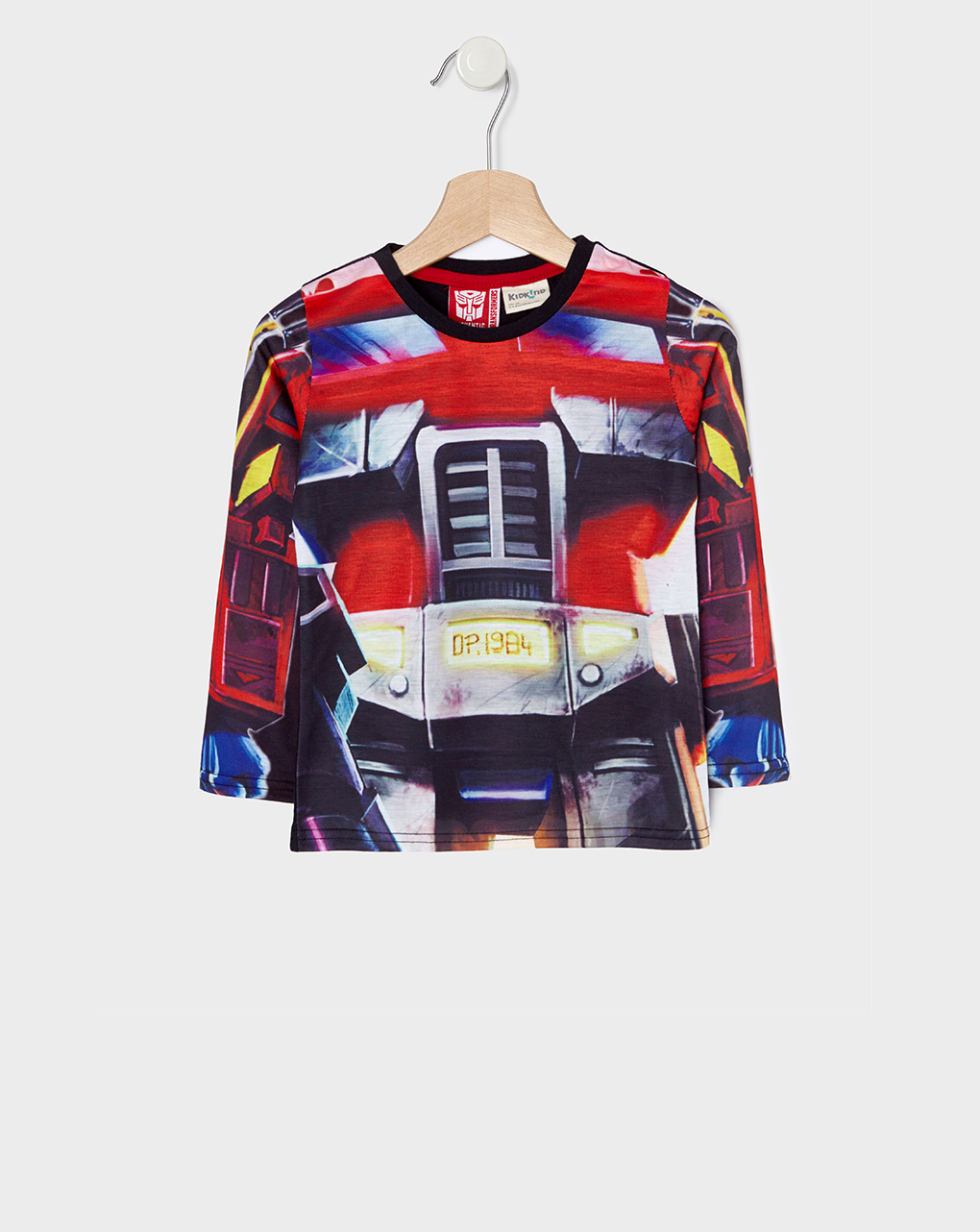 T-shirt με μακριά μανίκια και στάμπα Transformers για Αγόρι