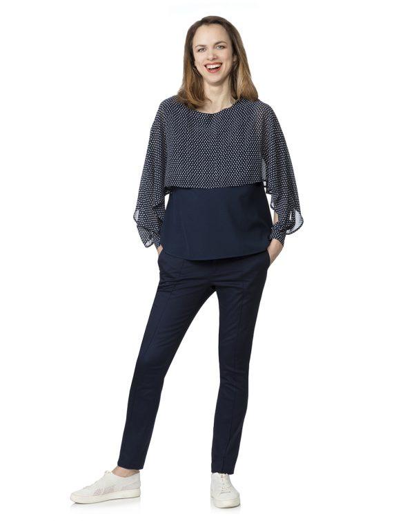 Γυναικείο Παντελόνι Μπλε σκούρο