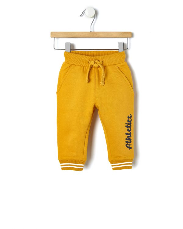 Παντελόνι Φούτερ Κίτρινο για Αγόρι