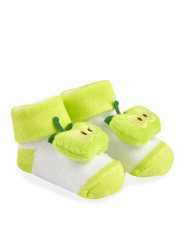 Κάλτσες με Μήλο Κουδουνίστρα για Κορίτσι
