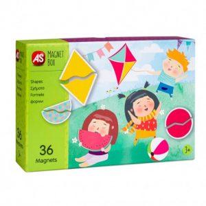 AS  Magnet Box  - Σχήματα  (64035) 1029-64035