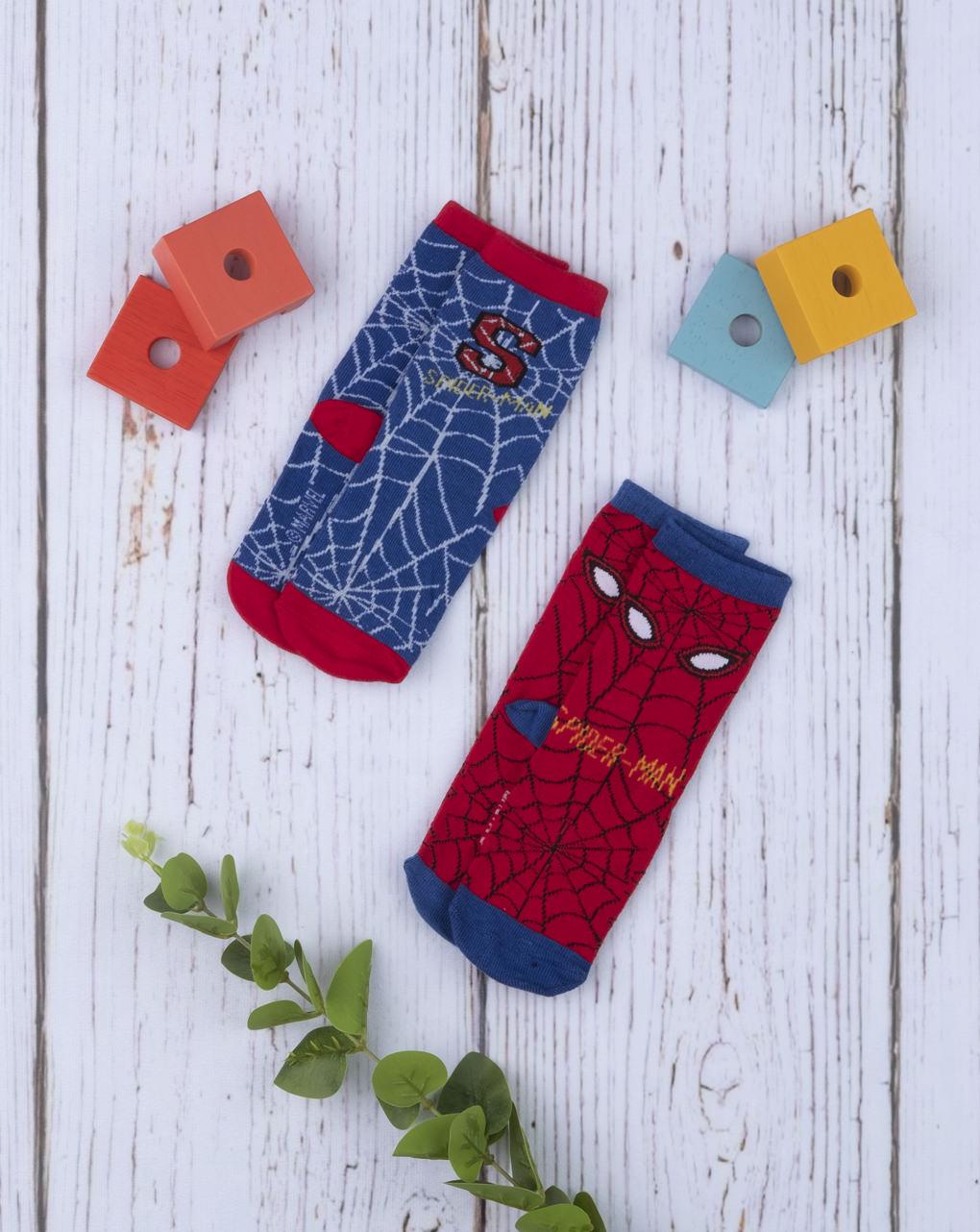 Κάλτσες Πακέτο Χ2 Spider-Man για Αγόρι