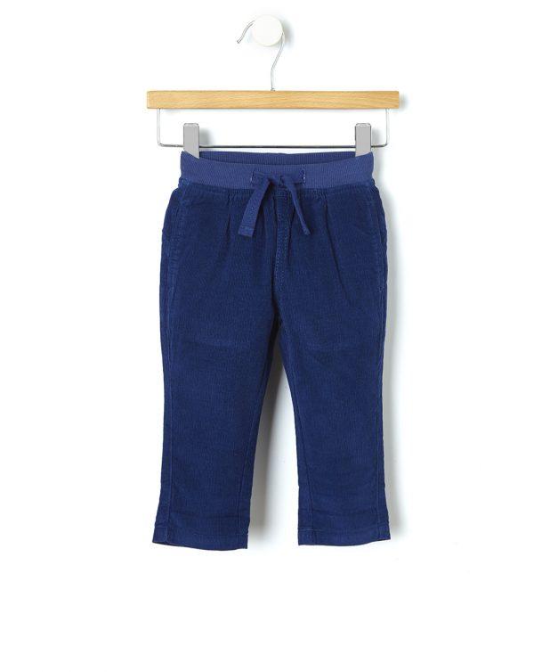 Παντελόνι Κοτλέ Μπλε για Αγόρι