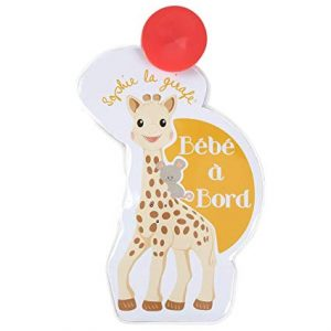 SOPHIE LA GIRAFE FLASH BABY ON BOARD