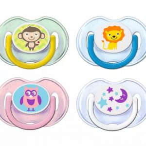 Avent Classic Pacifiers Σιλικόνης 0-6 Μ 2Τμχ