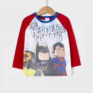 T-shirt Superman Batman για Αγόρι