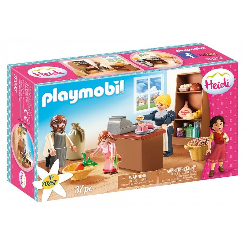 Playmobil Heidi Το Μπακάλικο Της Οικογένειας Κέλλερ 70257