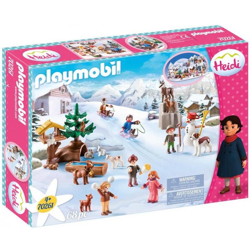Playmobil Heidi Ο Υπέροχος Κόσμος Της Χάιντι 70261