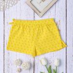 Σορτσάκι-Φούστα Jersey Κίτρινο για Κορίτσι