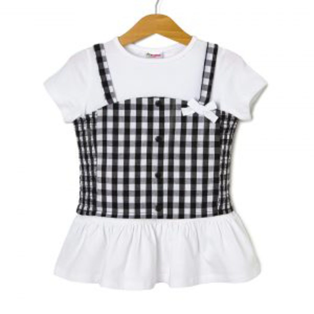 Σετ T-Shirt και Τοπ Vichy Μεγ.8-9/9-10 Ετών για Κορίτσι