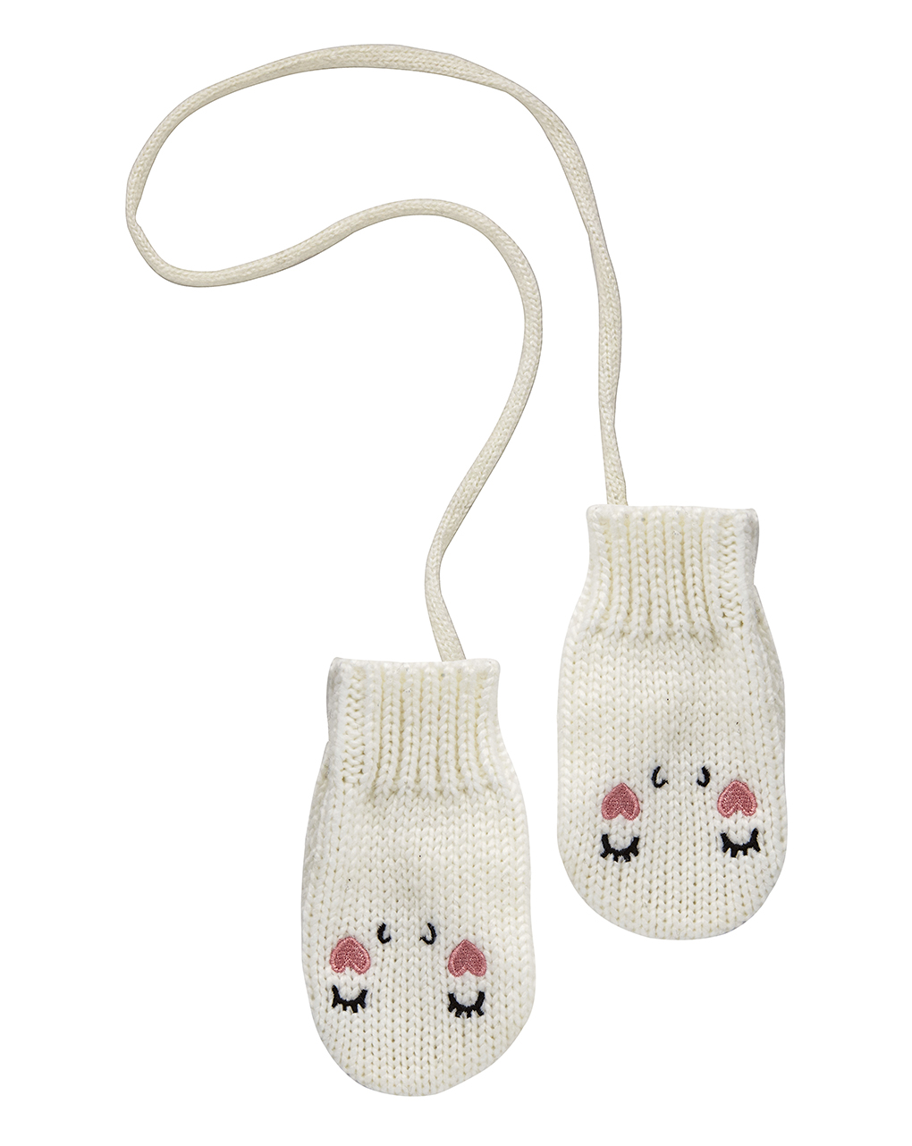 Γάντια Λευκά για Κορίτσι