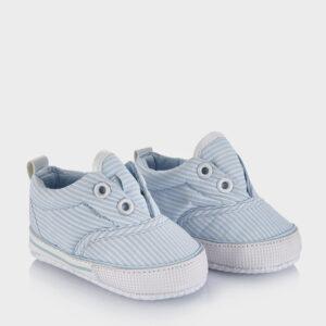 Βρεφικά Παπούτσια Αγκαλιάς Ριγέ για Αγόρι