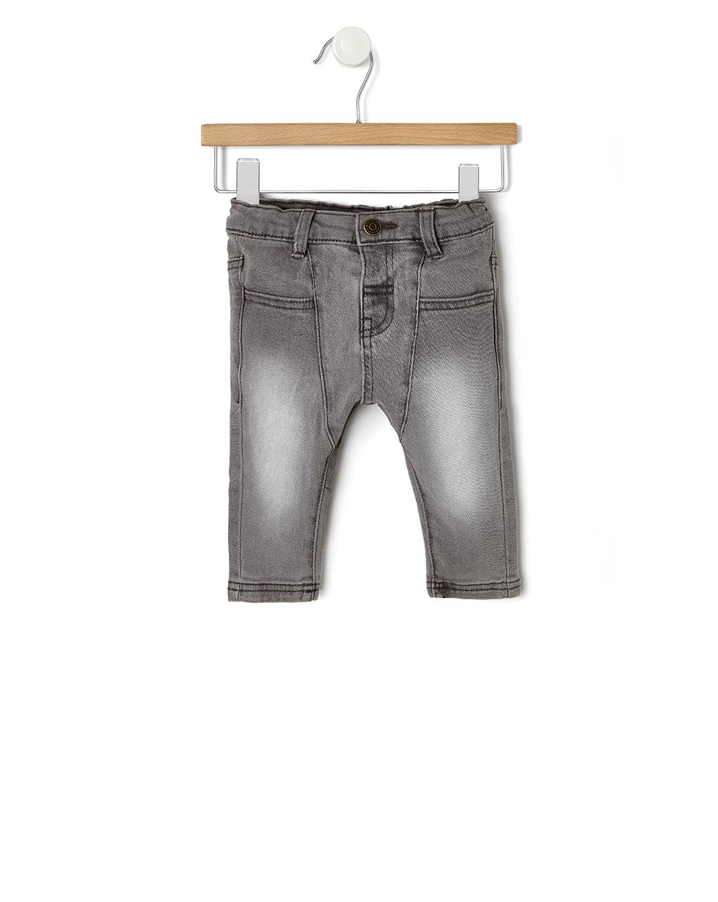Παντελόνι Denim Γκρι Πετροπλυμένο για Αγόρι