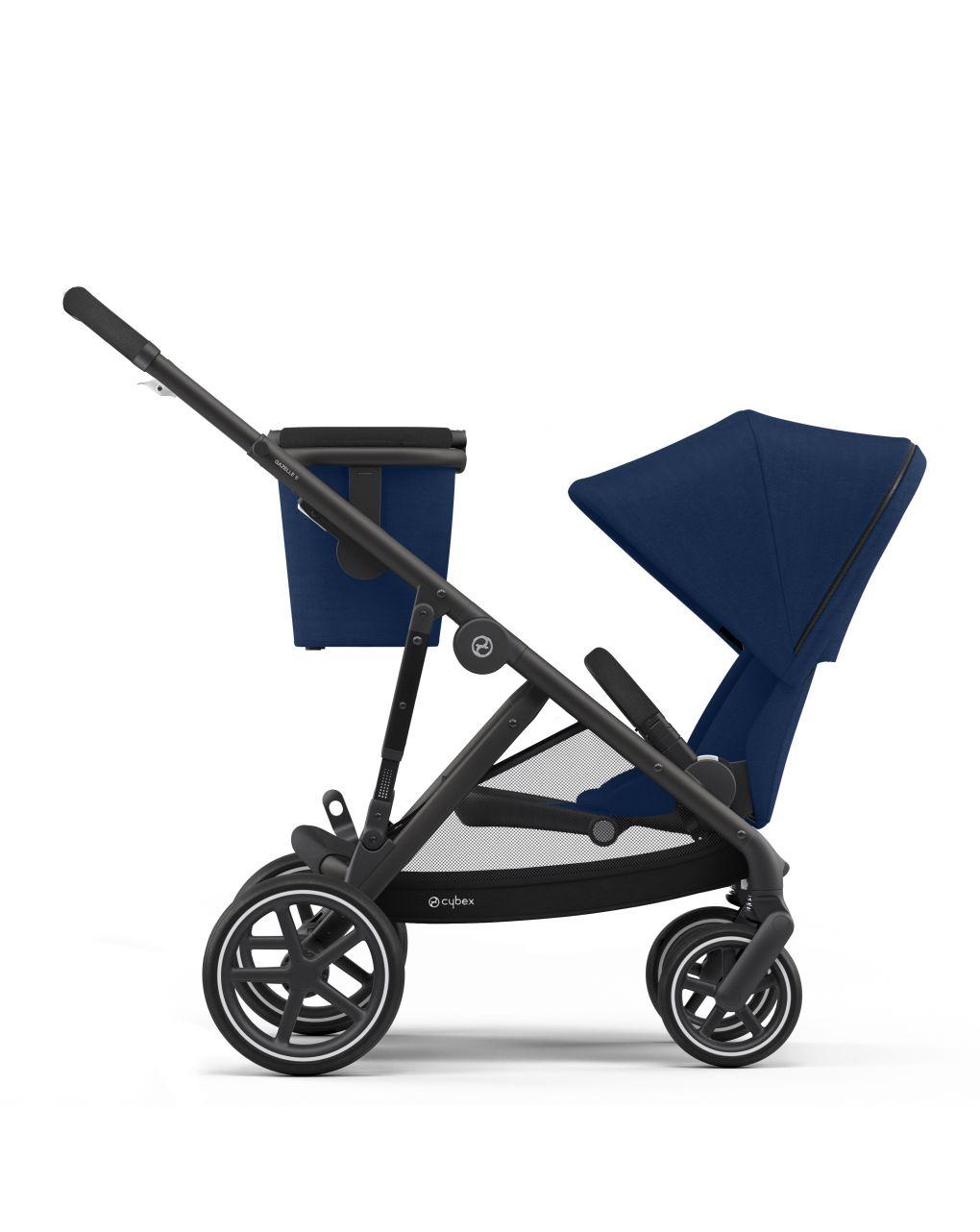Cybex Gazelle S Βρεφικό Καρότσι - Μπλε - Black Frame