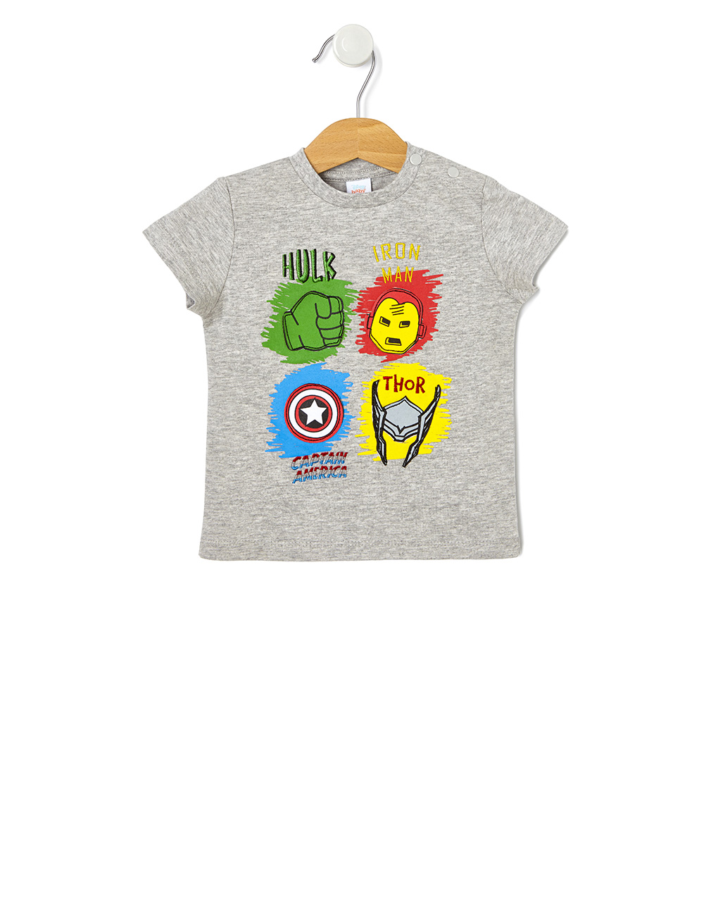 T-shirt με Στάμπα Avengers Unisex
