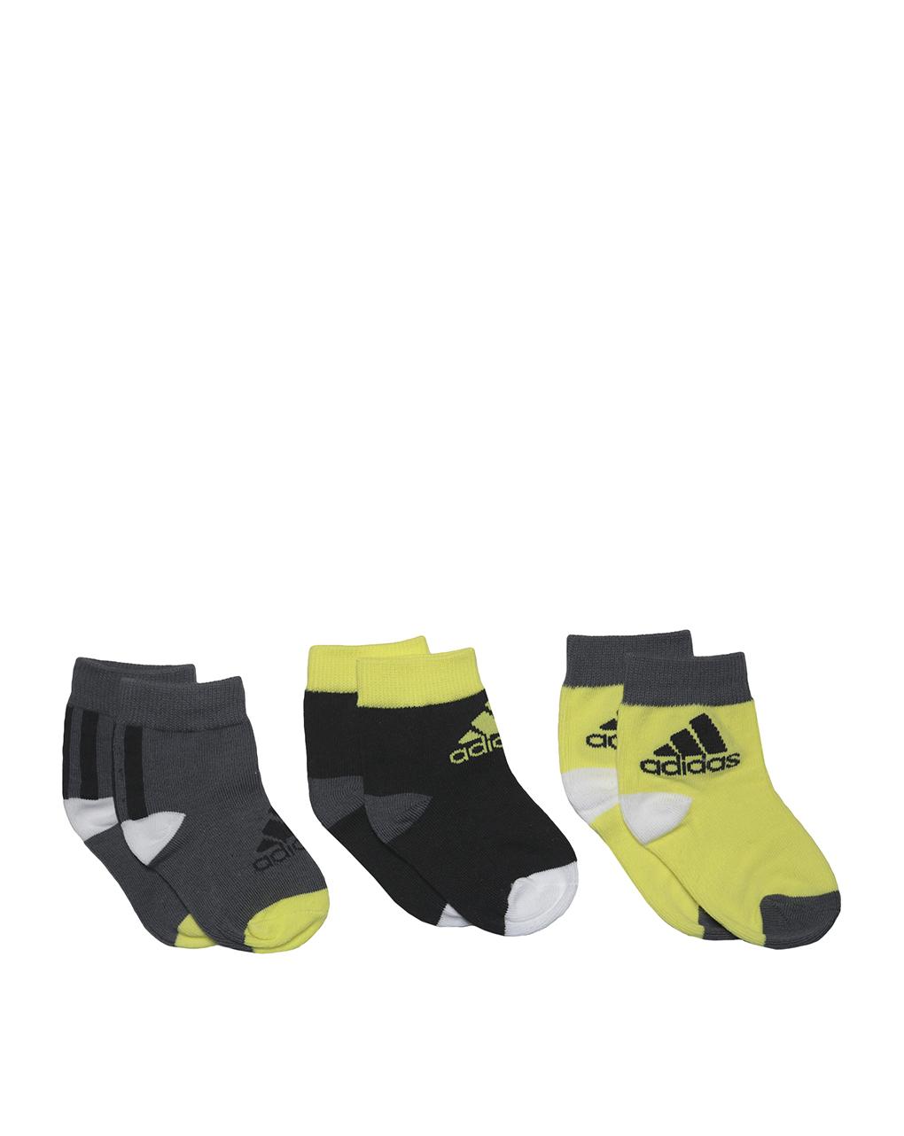 Κάλτσες Πακέτο Χ3 Adidas για Αγόρι