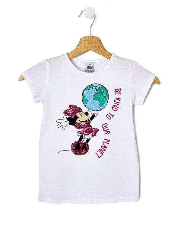 T-shirt Λευκό Minnie για Κορίτσι