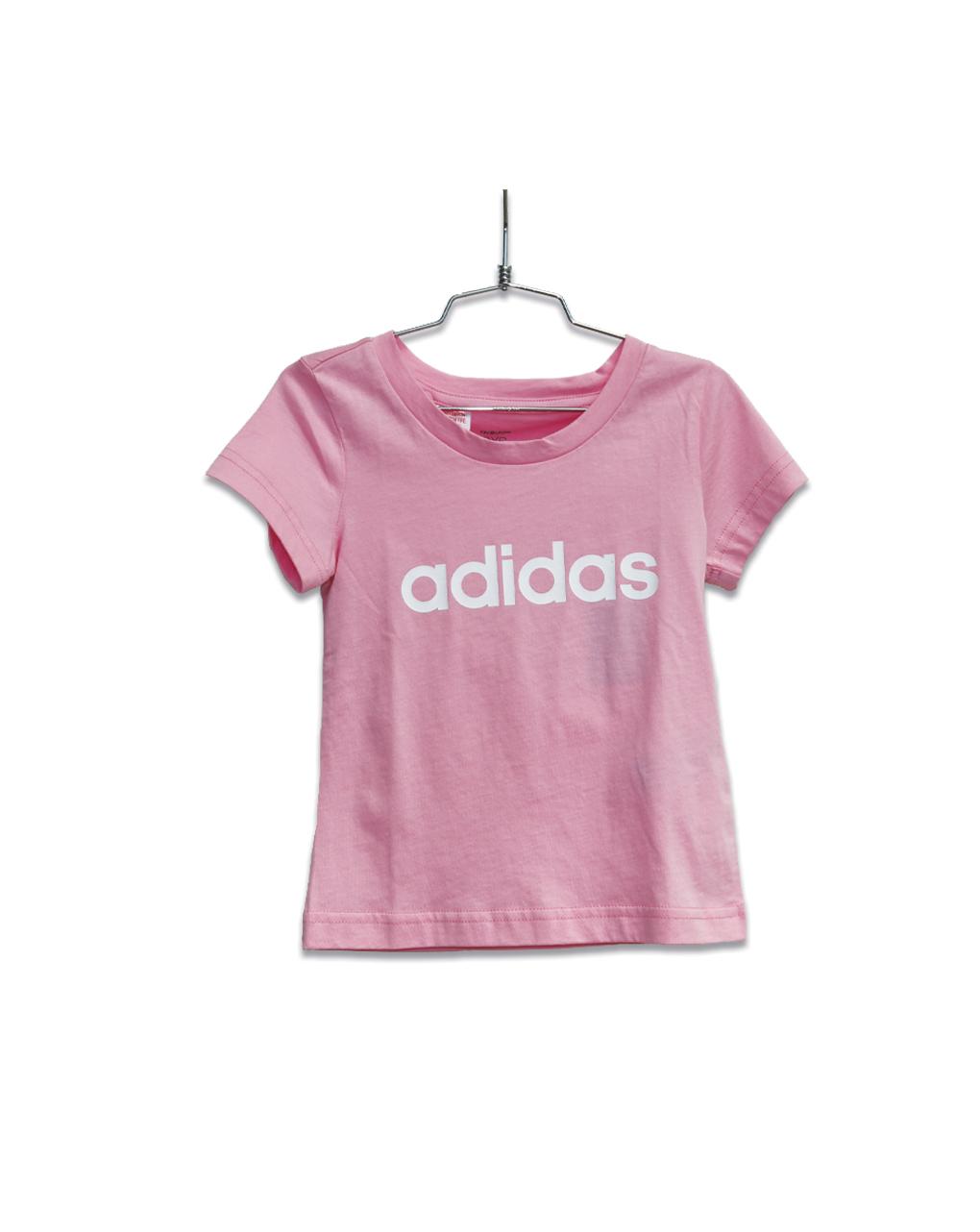 T-shirt Ροζ Adidas για κορίτσι