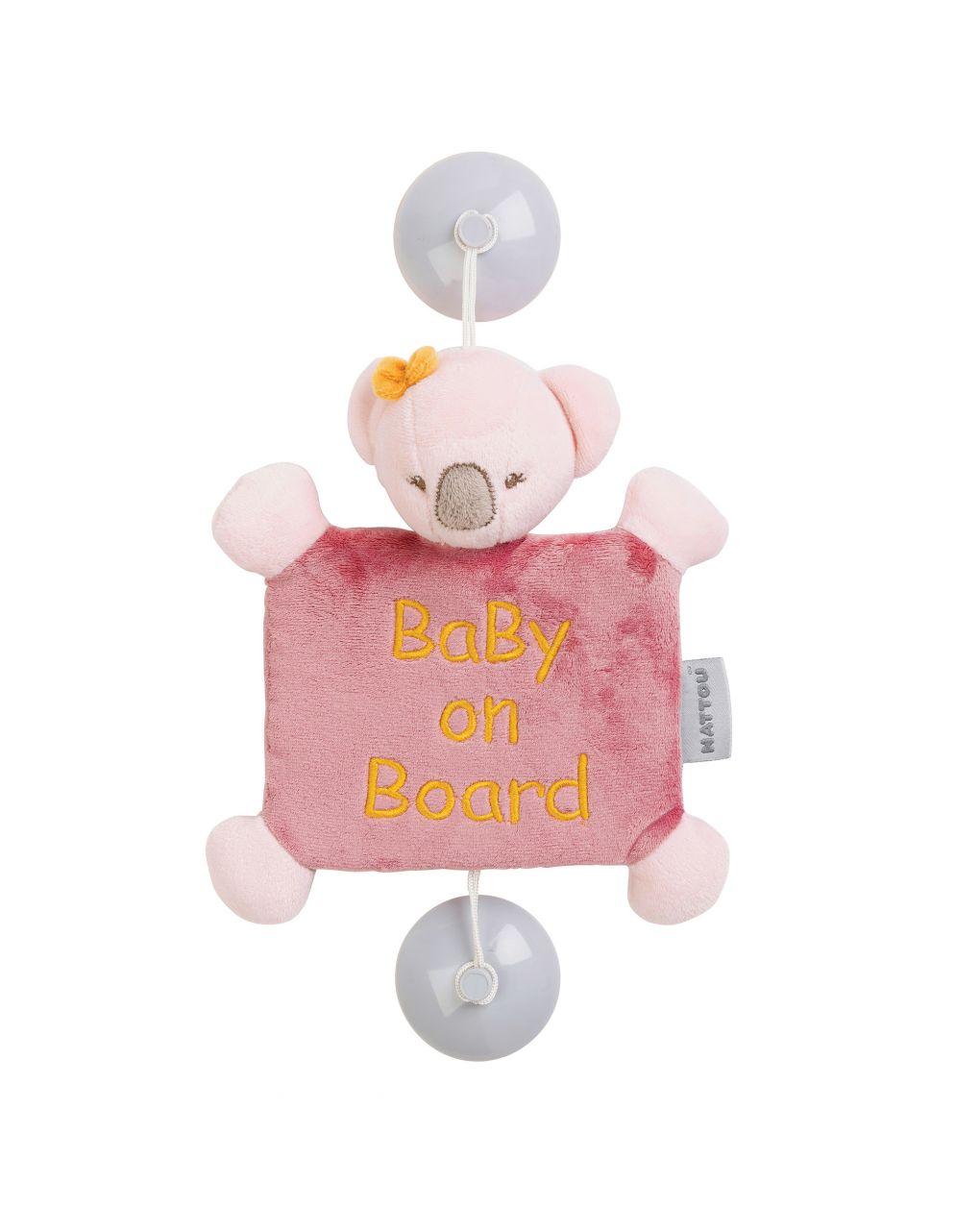 Nattou - Baby on Board Iris Κοάλα