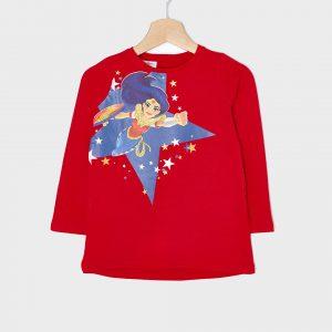 T-shirt με Στάμπα Wonder Woman για Κορίτσι