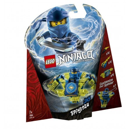 LEGO Ninjago Σπιντζίτσου Τζέι - Spinjitzu Jay 70660