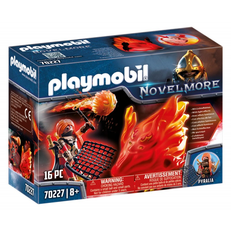 Playmobil Novelmore Φύλακας Του Μπέρναμ Με Πύρινο Στοιχειό 70227