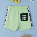 Βερμούδα Βαμβακερή Πράσινη για Αγόρι