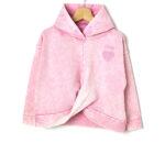 Μπλούζα Φούτερ με Κουκούλα Ροζ Μεγ.8-9/9-10 ετών για Κορίτσι