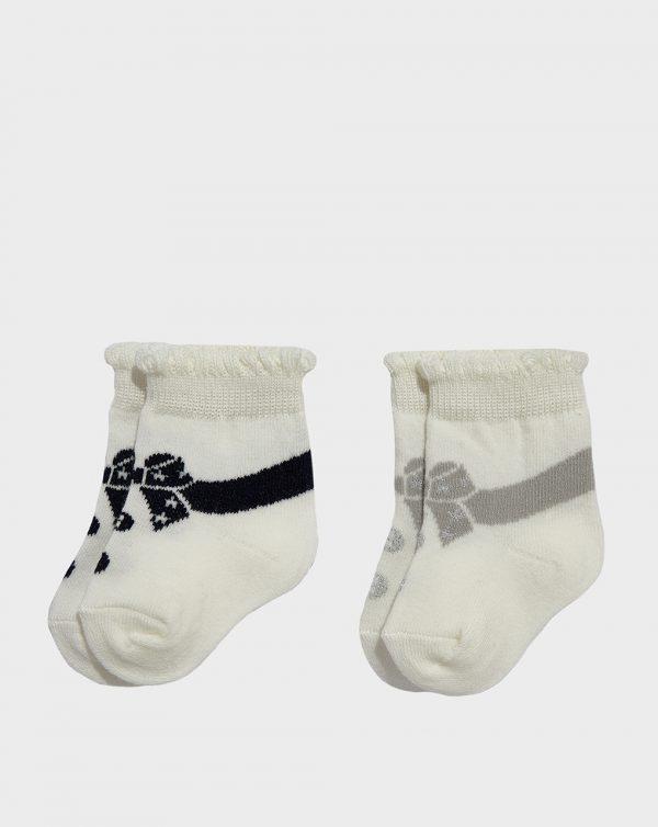 Κάλτσες Κοντές συσκ. X2 για Κορίτσι