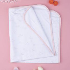 Κουβέρτα για Λίκνο Microfleece για Κορίτσι