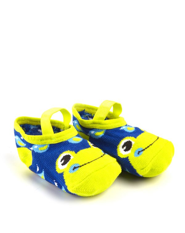 Κάλτσες Αντιολισθητικές Μπαλαρίνες Βάτραχος για Κορίτσι