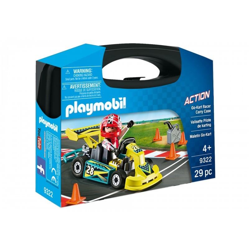 Playmobil Bαλιτσάκι Go-Kart 9322