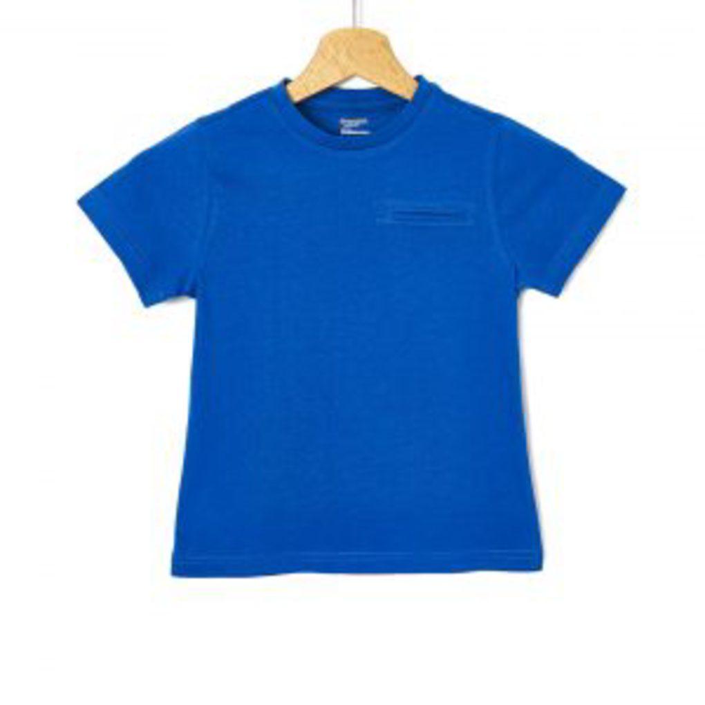 T-shirt με Κοντά Μανίκια Μπλε Μεγ.8-9/9-10 Ετών για Αγόρι