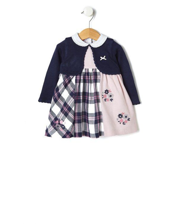 Φόρεμα Patchwork για Κορίτσι