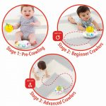 Skip Hop 303108 E&M Follow-Bee Crawl Toy - Παιχνίδι 29-2905020-01