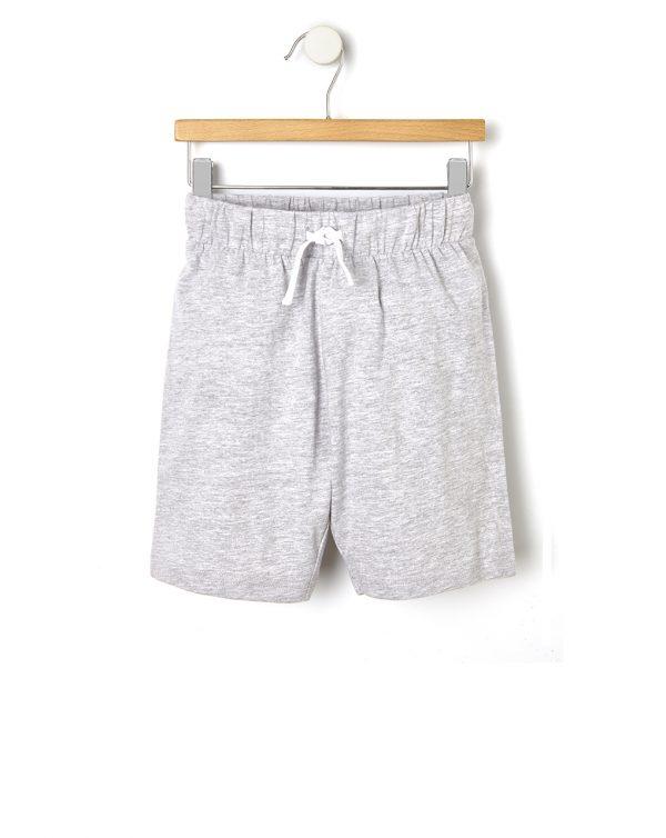 Βερμούδα Jersey Basic Γκρι για Αγόρι