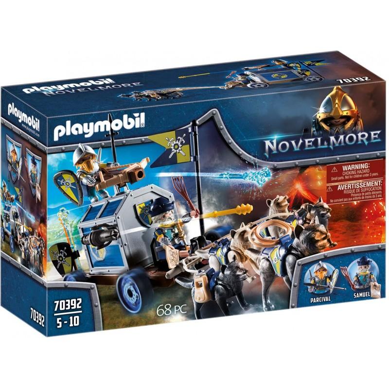 Playmobil Novelmore Άμαξα Μεταφοράς Θησαυρού Του Νοβελμορ 70392
